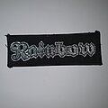 Rainbow - Patch - Rainbow - Logo Original Patch