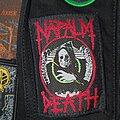 Napalm Death - Patch - Napalm Death - Life? Original Patch