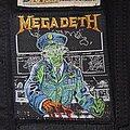 Megadeth - Patch - Megadeth - Holy Wars Original Patch