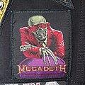 Megadeth - Patch - Megadeth - Peace Sells Original Patch