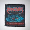 Sepultura - Patch - Sepultura - Schizophrenia Original Patch