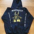 Bathory - Hooded Top - Bathory - Yellow Goat Bootleg Hoodie 2014
