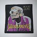 Megadeth - Patch - Megadeth - Mary Jane Original Patch (Rebordered)