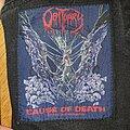 Obituary - Patch - Obituary - Cause of Death Original Patch
