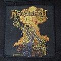 Megadeth - Patch - Megadeth - Nuclear Vic Original Patch