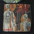 Death - Patch - Death - Human Original Patch