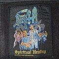 Death - Patch - Death - Spiritual Healing Original Patch