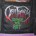 Obituary - Patch - Obituary - Slowly We Rot Original Patch