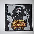 King Diamond - Patch - King Diamond - Abigail Original Patch (Rebordered)