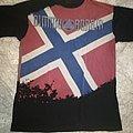 Dimmu Borgir - TShirt or Longsleeve - Dimmu Borgir - Norway flag t shirt