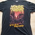 ABOMINABLE PUTRIDITY At the end of human existence size medium 2007 TShirt or Longsleeve