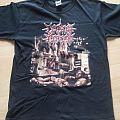 CEREBRAL EFFUSION smashed and splattered organs medium size TShirt or Longsleeve
