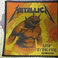 Metallica - Jump in the fire - patch