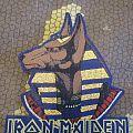 Iron Maiden - Bootleg patch - world slavery - gold stitching