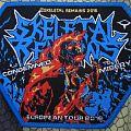 Skeletal Remains - 2016 - Euro tour patch