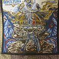 Sepultura - Machine Messiah patch 2017