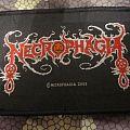 Necrophagia logo patch - 2003