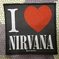 Nirvana - I heart Nirvana  Patch