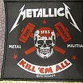 Metallica - SF83 seek and destroy metal militia  - patch