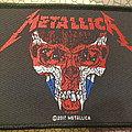 Metallica - Skull patch - England