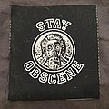Obscene Extreme - printed cloth patch 2