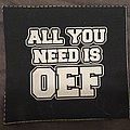 Obscene Extreme - printed cloth patch 3