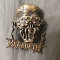 Megadeth - Pin / Badge - Megadeth Vic Rattlehead pin