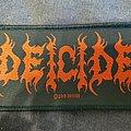 Deicide - Patch - Deicide - Logo