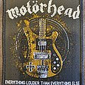 Motörhead - Patch - Motörhead - Everything louder than everything else
