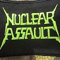 Nuclear Assault - 2017 Australian tour (logo patch)