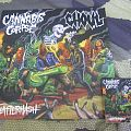 cannabis corpse, ghoul / Split Splatterhash