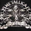 Metallica - 2010 Australian tour shirt