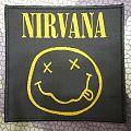 Nirvana - smiley face patch