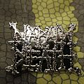 Napalm Death - logo pin  - got from tour merch table Pin / Badge