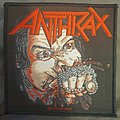 Anthrax - Patch - Anthrax - Fist full of metal patch