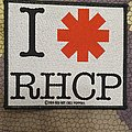 Red Hot Chilli Peppers - Patch - RHCP - I love RHCP