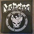 Destruction - Patch - Destruction - 100% Thrasher inside - Original German underground thrash