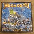 Megadeth - Patch - Megadeth - 2020 rust in peace - album art patch
