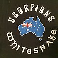 Whitesnake and Scorpions - 2020 Australian tour - Fire appeal tshirt