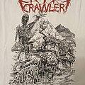 Crypt Crawler - TShirt or Longsleeve - Crypt Crawler -  The River of Blood White TShirt
