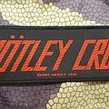 Mötley Crüe - small strip patch - Official