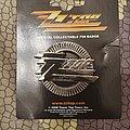 ZZ Top - logo pin