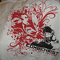 Combichrist limited edition  white t shirt .. get out of my head . size xl.