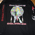 Exploding Zombies ls TShirt or Longsleeve