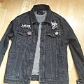 Simple doom and noise punk jacket