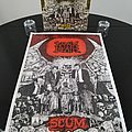 Napalm Death - Other Collectable - Napalm Death ' Scum ' Original Vinyl LP  + Poster