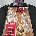 Death ' Human ' Promotional Posters + Deluxe Box Set + Ads Other Collectable