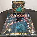 Agent Steel ' Unstoppable Force ' Original Vinyl LP + Promotional Poster + Ads Other Collectable