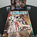 Carcass ' Necroticism - Descanting The Insalubrious ' Original Vinyl LP + Autographed Promotional Poster + CD + Promotional Ads