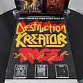 Destruction - Kreator - Rage - 'Hell Comes To Your Town Tour ' Poster Other Collectable